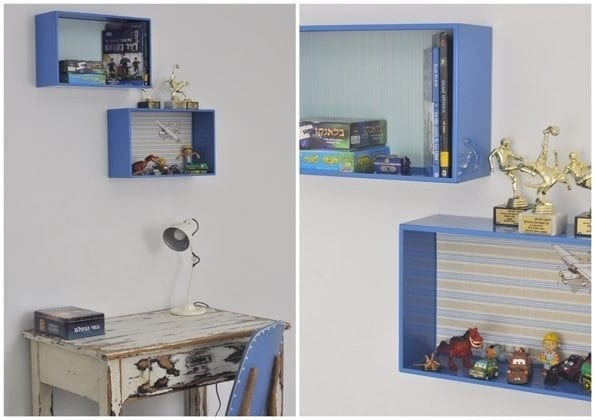 tin box shelves for boys